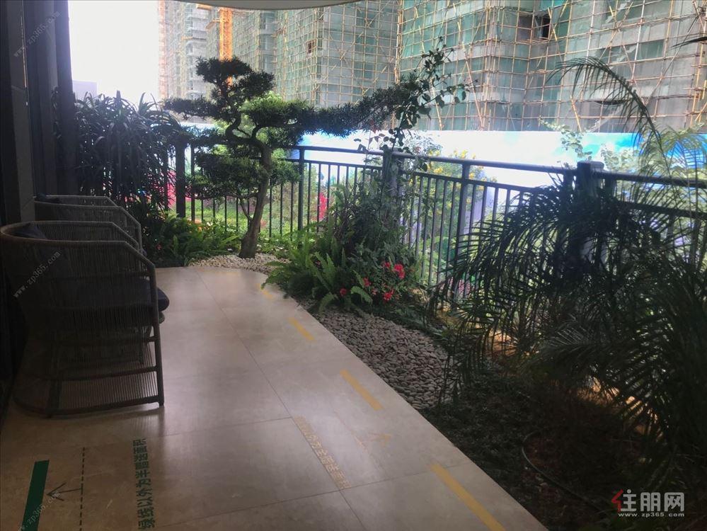 城南新区,3.1米大阳台,自带空中花园,
