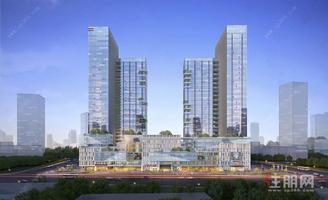 双层公寓办公创业投资自用均可五象总部基地