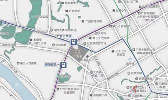 广西大学对面,双地铁,洋浦星毛坯房