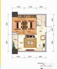 北湖老城区2房首付12万,月供1700