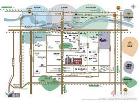 总部基地地铁旁宜家对面世贸中心