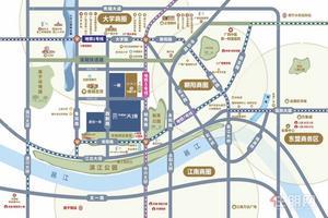 天健城+双地铁+江景+西大商圈+小户型