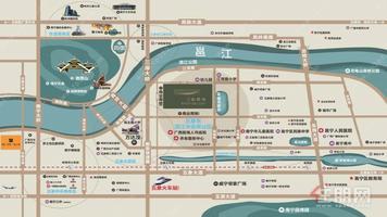 万达茂+江景房+民主路小学+4号线