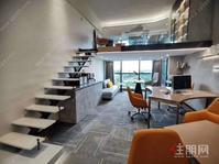 70年产权公寓,4.2米高买一层得2层,负一楼直通地铁1号线口