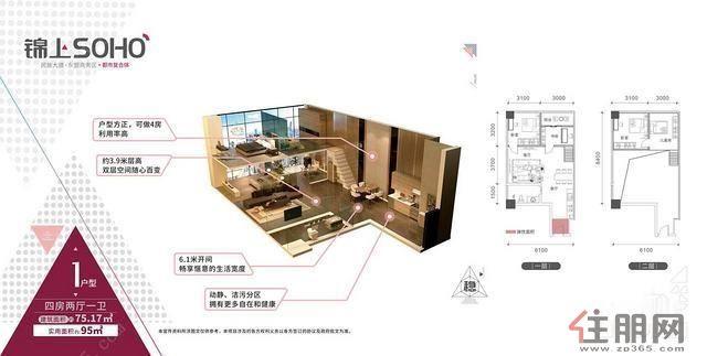 琅东CBD核心商圈+琅东地铁口旁+办公酒店公寓型