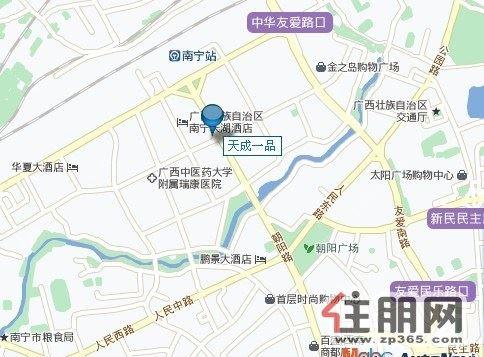 小区地图 地址:朝阳路65号
