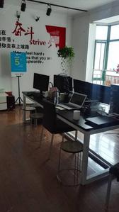 七星?#20197;矗?#24066;中,心 外滩新城 3室租办公带办公家具 看房方便 户型方正