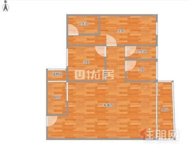 高新区,业主急急急出售 华成都市广场精装三房家具