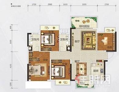 五象新区-五象新区 檀府印象 四房两厅两卫出租