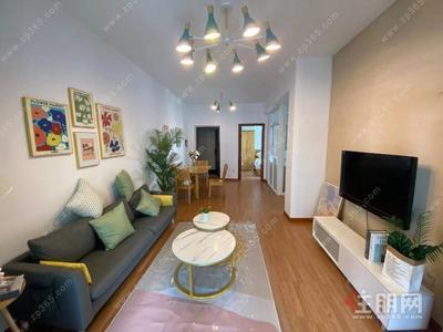青秀区-精装修大两房,拧包入住,看房方便,急租