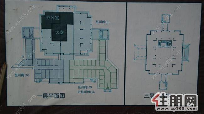商铺房屋设计图12x13