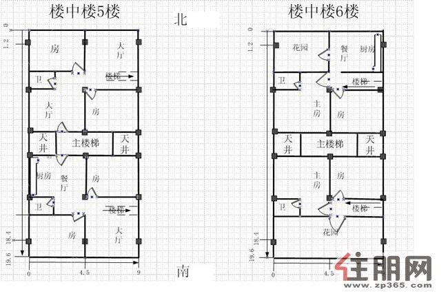 6米宽自建房设计图_装装修