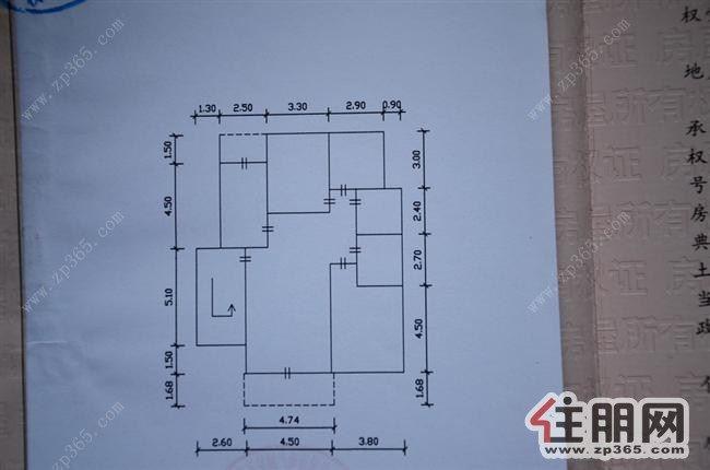 3房一厅平面设计图