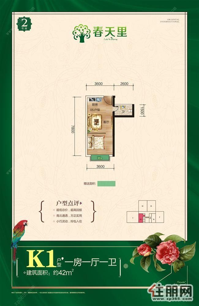 南宁公寓房哪里有?***美小户型公寓30-40平带阳台尽在《春天里》楼盘