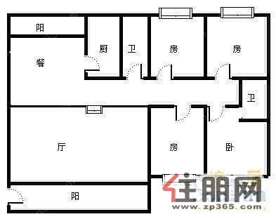 南宁市凤岭翠竹小区两厅四房罕见出售