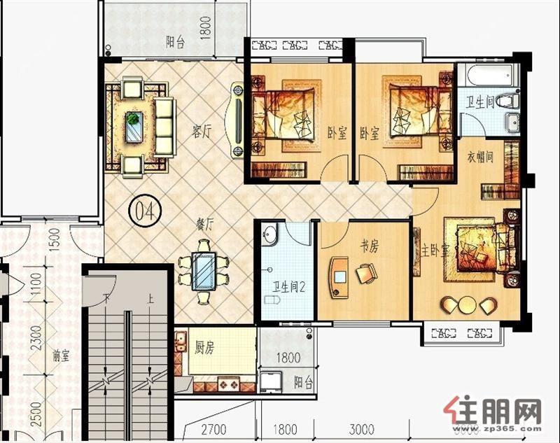 房屋平面设计图 125