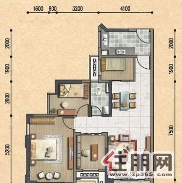 农村有堂屋房子设计图展示