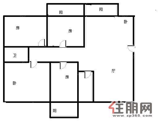 房屋设计图 平层