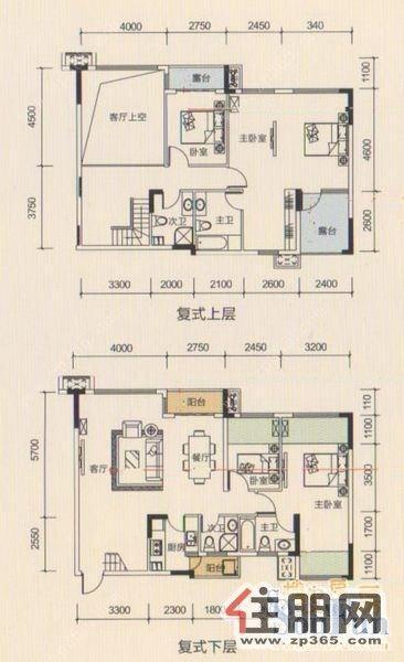 房子设计图平面图楼中楼