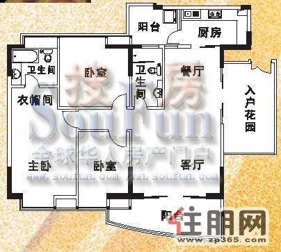 三房立体设计图