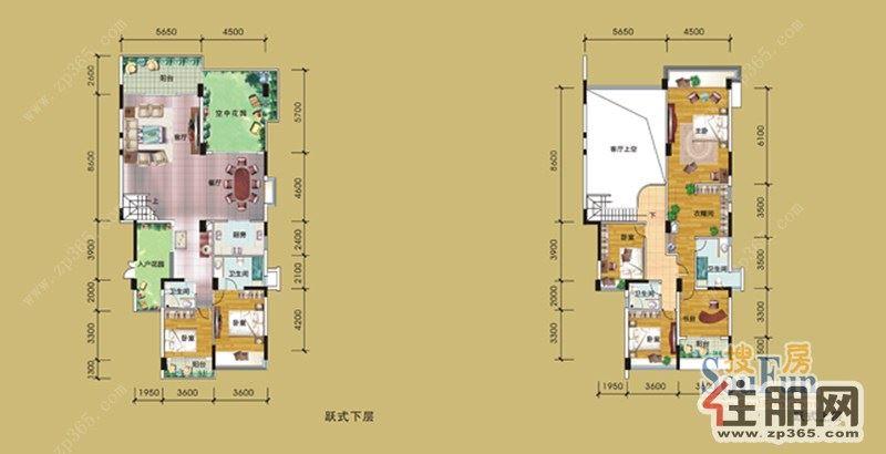 房屋设计图平面图楼中楼