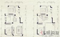麓山里F-1型4室2厅2卫157.98㎡