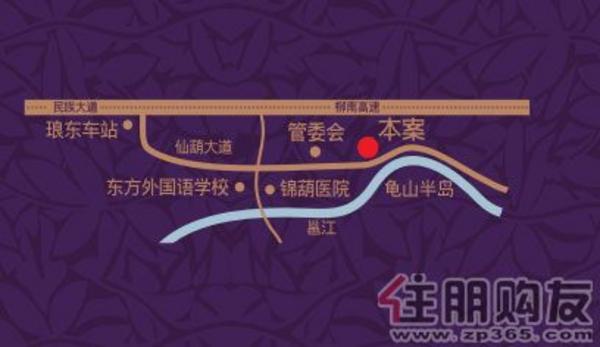 2010.11月项目新的交通图
