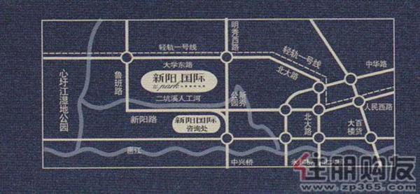 新阳·国际交通图