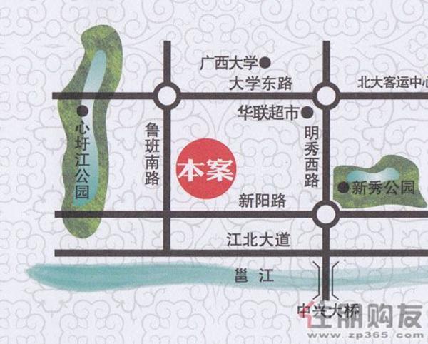 振宁·现代鲁班交通图
