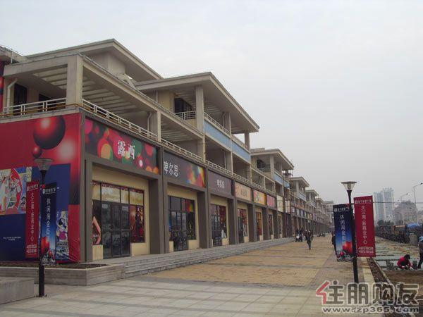 富宁商业广场4月8日实景图