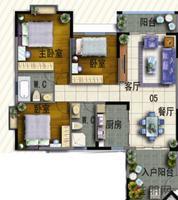 18#楼05户型
