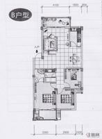 阳光名邸4、8、9号楼B户型
