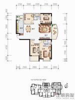 4号楼C户型4房2厅2卫约139.67㎡