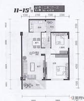 先锋花园11-15#楼E户型