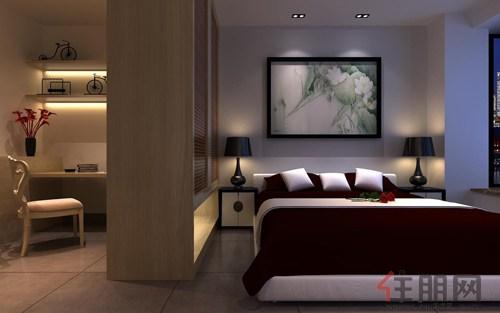 12.23 卧室装修布置示意图
