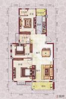 龙庭华府8#楼W户型