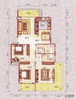 龙庭华府8#、9#楼U2户型