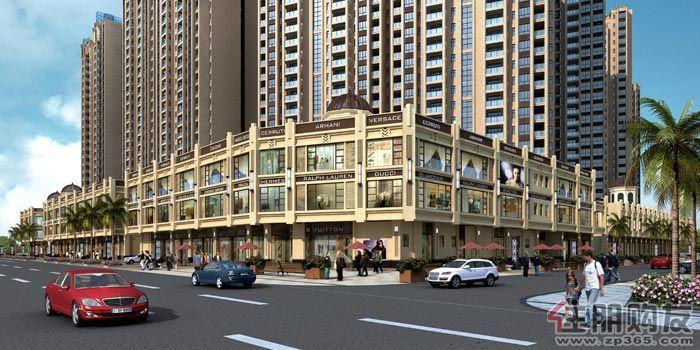 邕江明珠沿街商业效果图 万昌邕江明珠 1 114高清图片