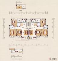 展华·世纪城2#3#户型图