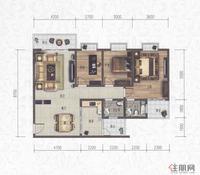 科赛·江景城B1-C户型