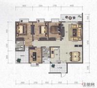 科赛·江景城B2-A户型