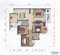 科赛·江景城B3-B户型