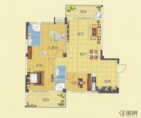 盘龙·财富中心1#楼E户型图