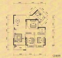 麒麟华府C3户型图