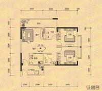 麒麟华府C7户型图