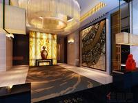 和德御景台效果图 和德・御景台酒店式奢尚入户大堂(效果图)