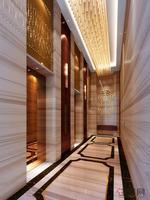 和德御景台效果图 和德・御景台入户-电梯厅效果图