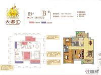 B5#B户型2+1房2厅2卫