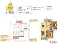 B5#C户型2房2厅1卫