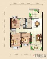 东方国际C5三房户型